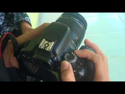 Tutorial canon 600d indonesia.