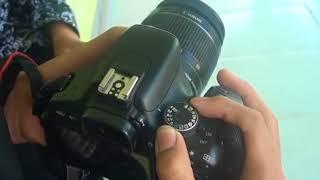 Download Video Setting Diafragma, Shutter Speed dan ISO pada Kamera Canon EOS 600D MP3 3GP MP4