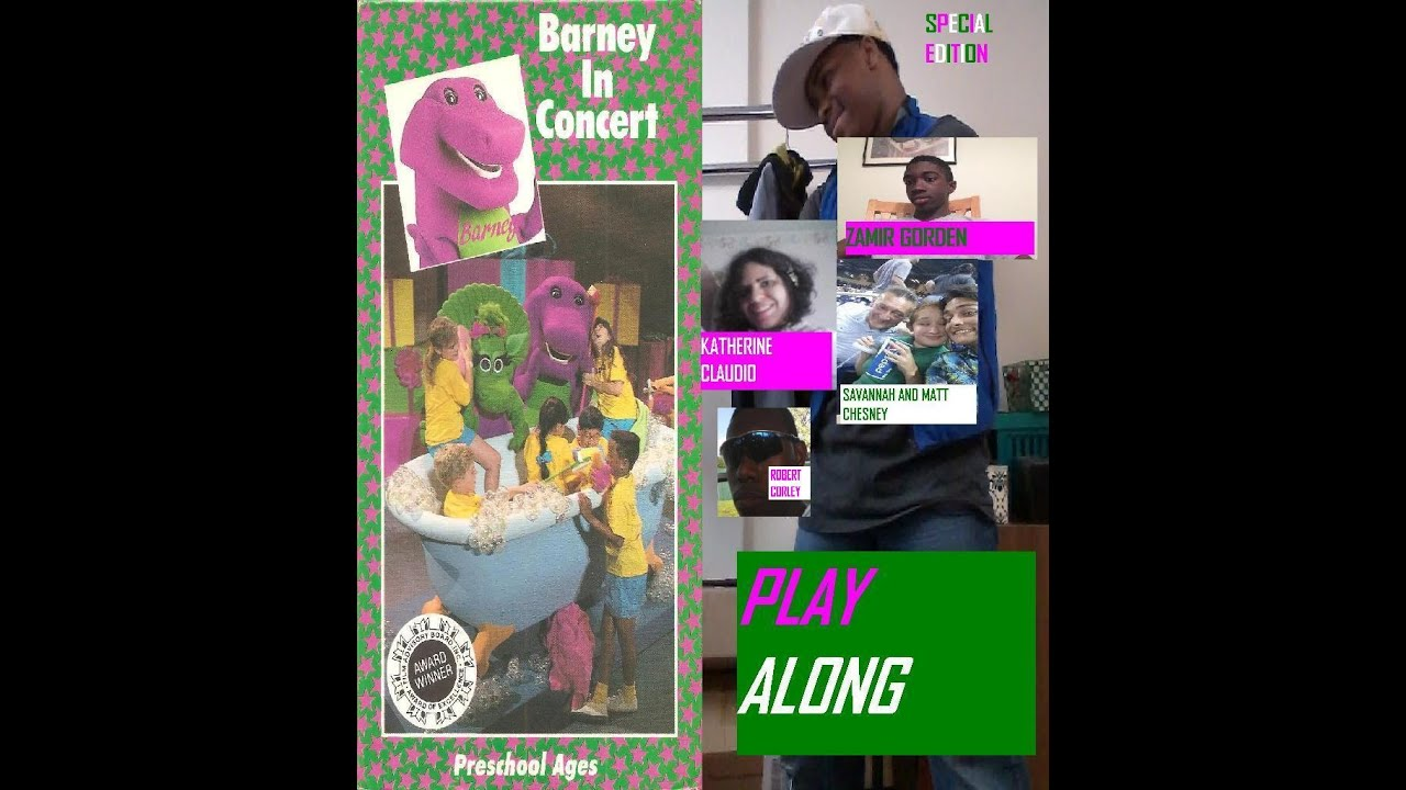 barney in concert play along special edition youtube