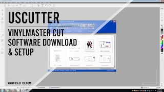 Gambar cover USCutter Vinylmaster Cut Software Download & Setup