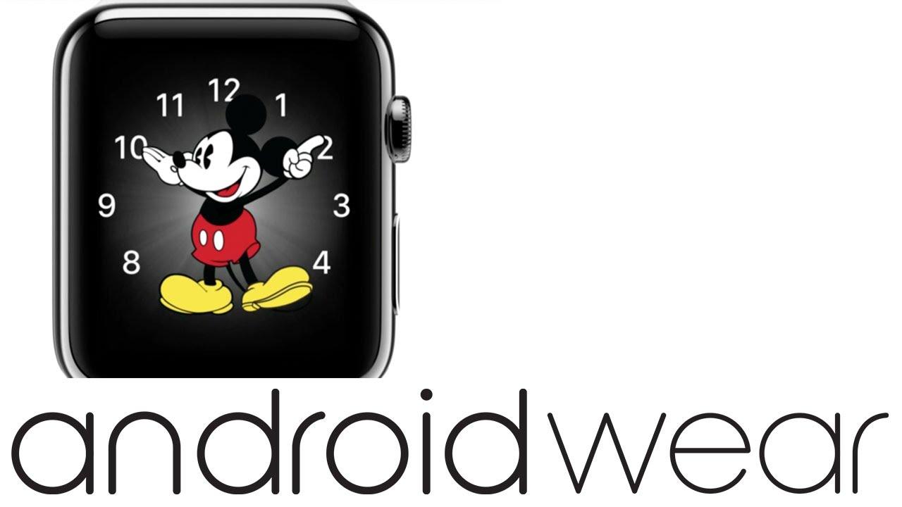 ahorrar 6a7bf 06766 Mickey Mouse (Apple Watch) on G Watch