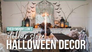🎃 DIY DOLLAR STORE HALLOWEEN Decorating Ideas 🎃 | The DIY Mommy