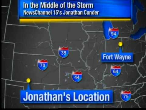 Severe weather in central United States
