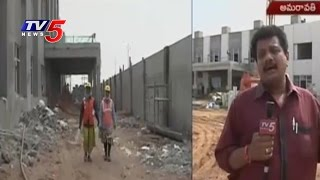 AP Govt Speeds Up Assembly Building Works | Assembly Sessions | Telugu News | TV5 News