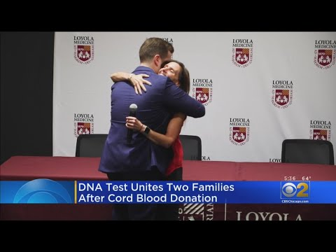 Woman Meets Man Whose Umbilical Cord Blood Saved Her Life