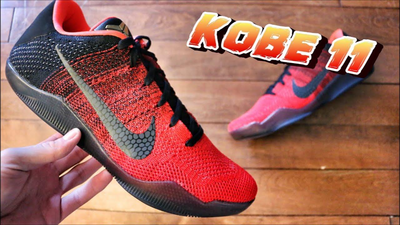 online retailer 301f4 c14ed Nike Kobe 11 Achilles Heel - Review