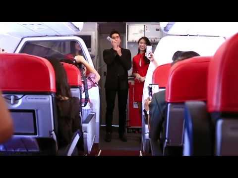 แอร์เอเชียเที่ยวบินปฐมฤกษ์ ดอนเมือง-ขอนแก่น กับ ณเดชน์ คูกิมิยะ
