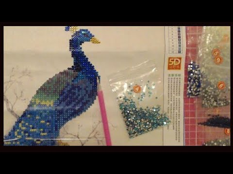 5D 3D Diamond painting, Diamond art  or Crystal art. What's it all about?