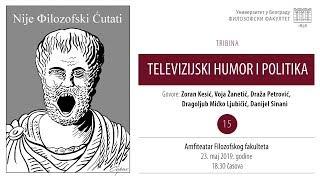 Nije filozofski ćutati: Televizijski humor i politika