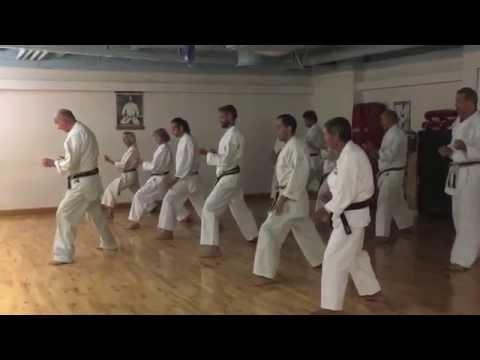 Schwarzgurttraining / Black Belt practice Karate Do Berne 2016-09-14