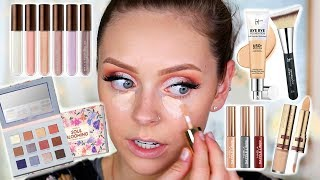 FULL FACE OF ALL NEW MAKEUP! Testing New Makeup
