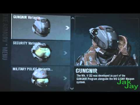 Halo Reach Armour & Prices