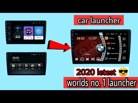 2020 🔴Latest car launcher for Android head unit world's no.1 car theme