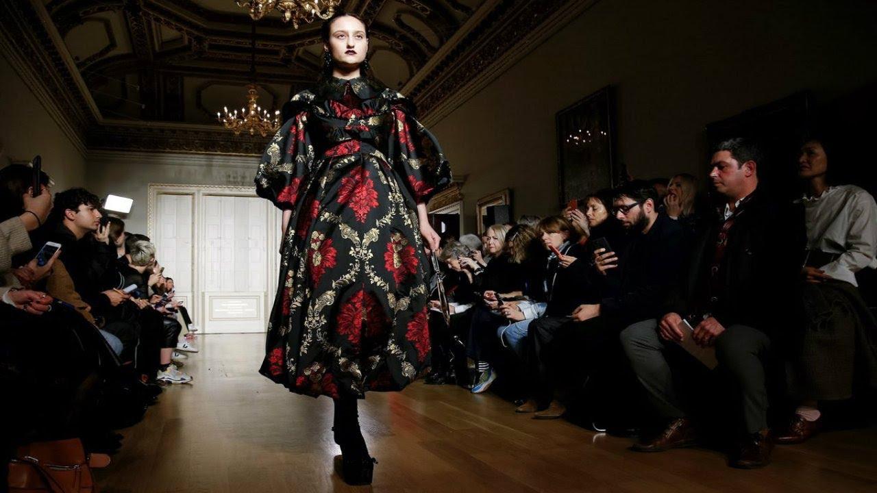 Simone Rocha   Fall/Winter 2019/20   London Fashion Week 9