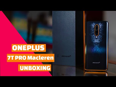 Oneplus 7T Pro Macleren Edition Unboxing and Hands On First Impression Review 5G Christmas deals