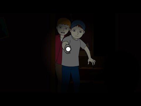 Creepy Abandoned Building Horror Story Animated