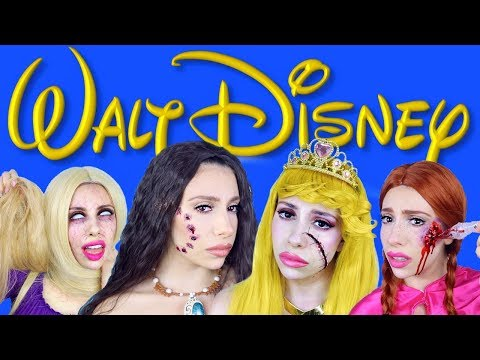 dead-disney-princesses-halloween-makeup!-(2018)