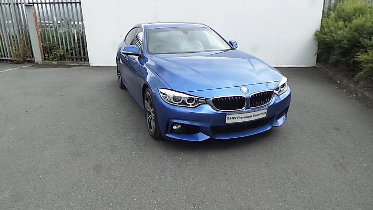 bmw 420d gran coupe estoril blue