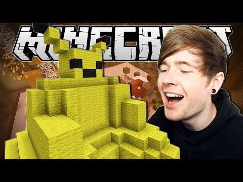 Thumbnail: Minecraft | FAT PIKACHU!! | Build Battle Minigame
