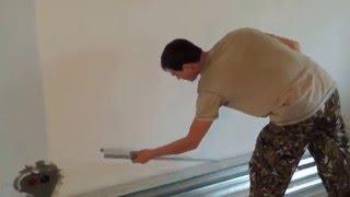 Самоучитель по монтажу. Потолок из гипсокартона с подсветкой и светильниками -Урок 1