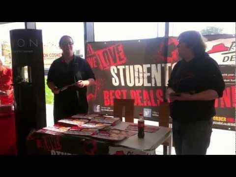 Edinburgh College Freshers 2012, Milton Road & Midlothian Campuses