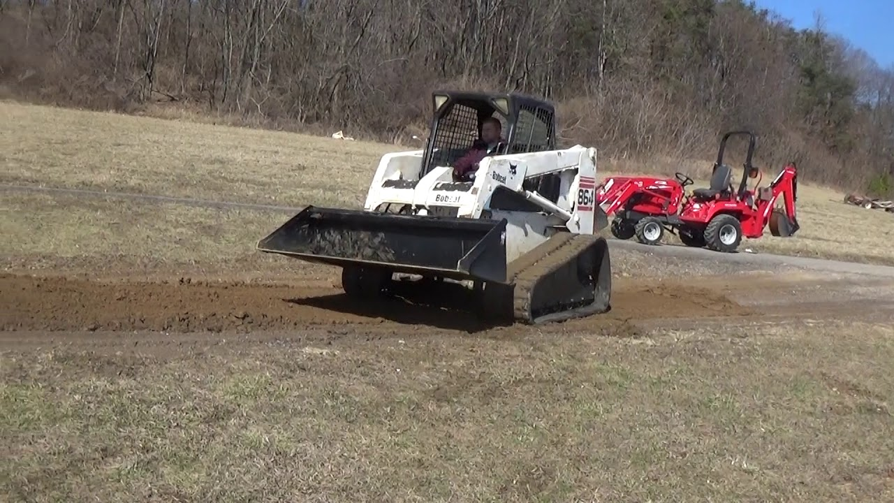 Bobcat 864 Track Skid Steer With New Bucket Y