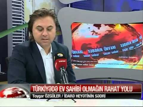 Mr.Toygar Özgüler with Television Interview in Azrabijan