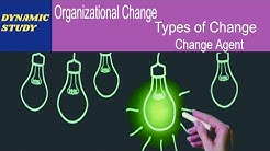 Organizational Change, Types of Change and Change Agent