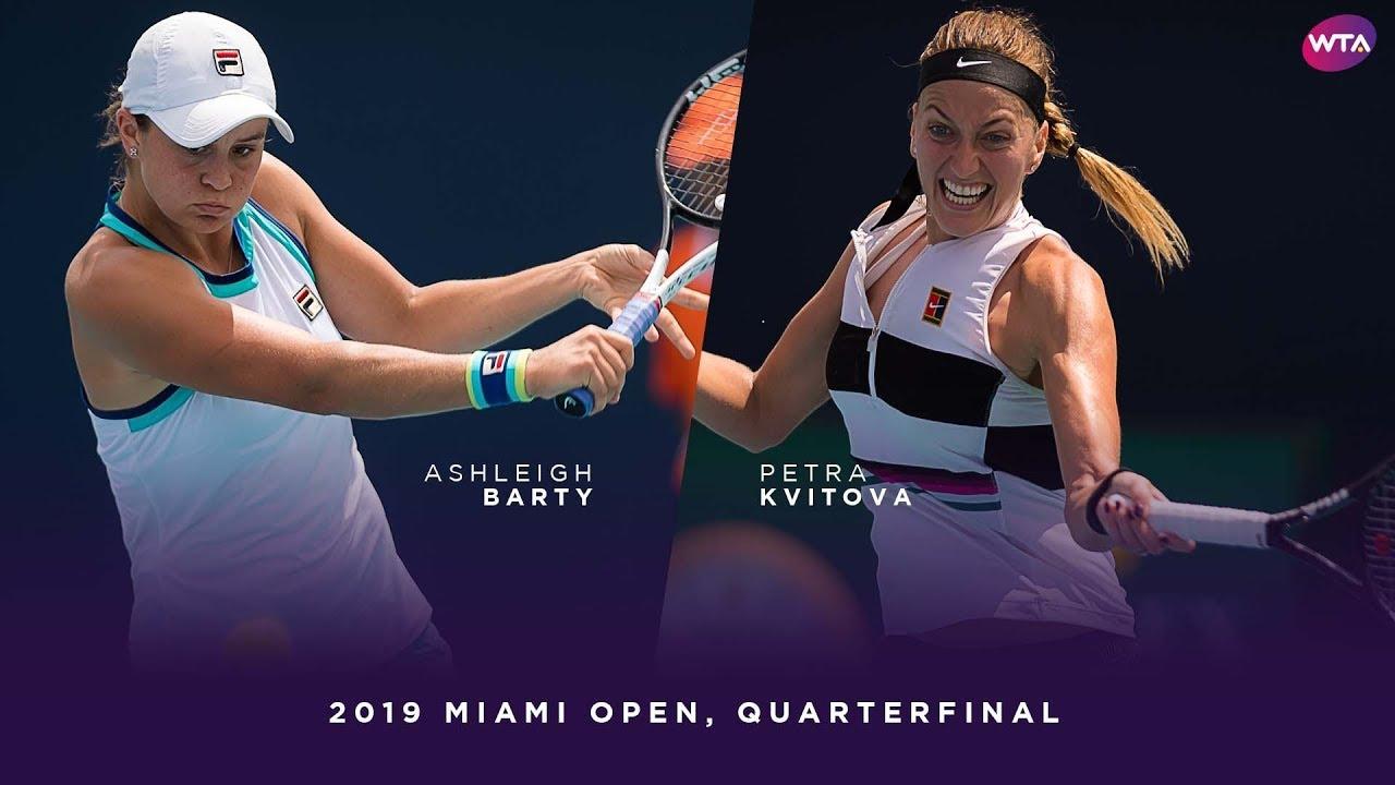 Ashleigh Barty vs. Petra Kvitova | 2019 Miami Open ...