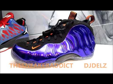 Nike Air Foamposite One Phoenix Suns Electro Purple Sneaker Review With @DjDelz #hotOrNot