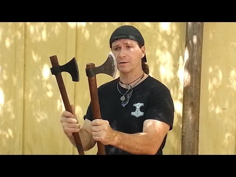 Viking Axe Handle Modification and Performance Test Video!