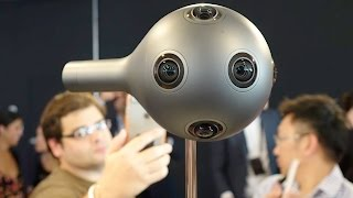 Nokia announces orb shaped OZO virtual reality camera for filmmakers