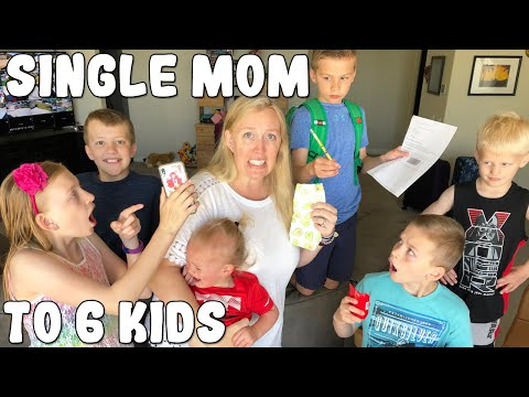 NO DAD! Single Parent for a Week    Mommy Monday