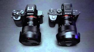 Sony A7SII and A7RII 14 Bit Raw Uncompressed and 8 New FE lenses By 2016!