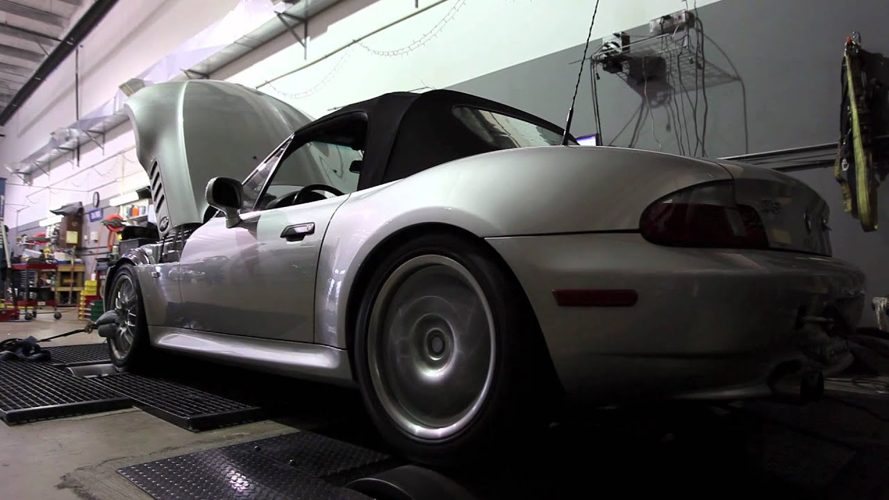 Supercharged 2001 Bmw Z3 Dyno Run Youtube
