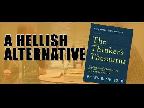 The Thinkers Thesaurus - A Piquant Alternative.