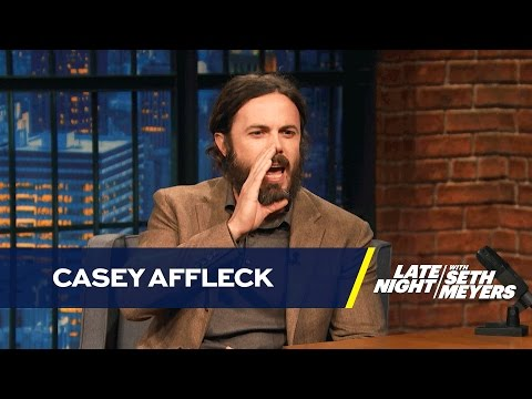 Casey Affleck Doesn't Like Doing Boston Accents