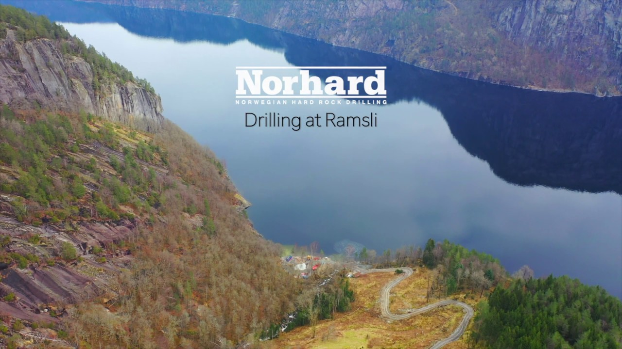 Video from drilling at Ramsli