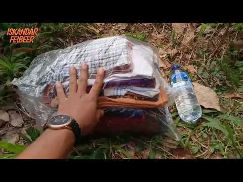 Social Experiment Memberikan Baju Untuk Suku Mante #sukumante #orangbunian