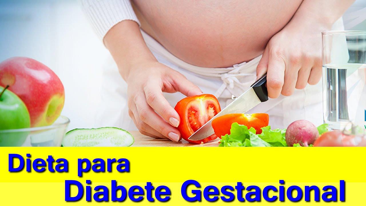 Dieta para gravida com diabetes gestacional