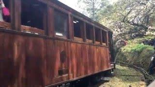 阿里山森林鐵路 蒸氣火車與檜木車廂