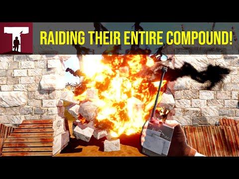 RAIDING THEIR ENTIRE COMPOUND! (Rust) thumbnail