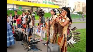 Эквадорские  индейцы в Москве
