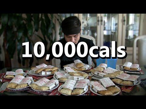 10,000cal Hot Pocket Challenge (2,000,000 sub video?)