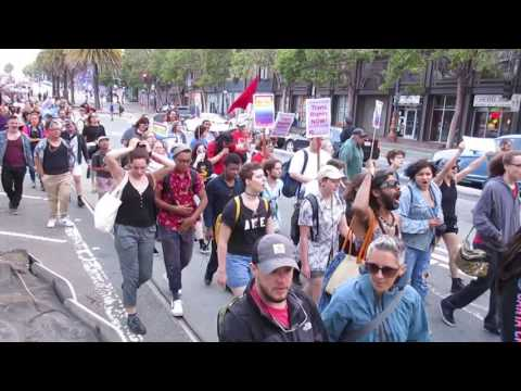 Trans March 2017 Market Street San Francisco California