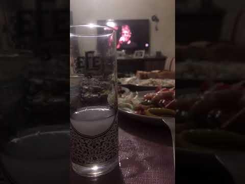 Gece rakı masası ev ortamı Snap