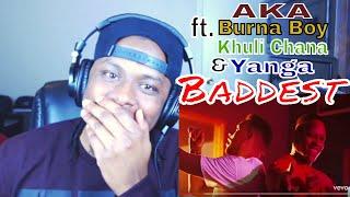AKA - Baddest ft. Burna Boy, Khuli Chana, Yanga - Reaction
