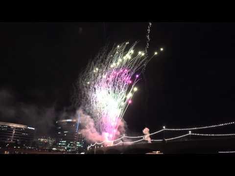 Tempe, AZ Fireworks 2015 Filmed with 4K cameras