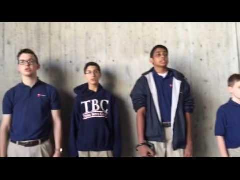 Texas Boys Choir, We Are Not Alone, by Pepper Choplin, at Dachau Concentration Camp Memorial Site