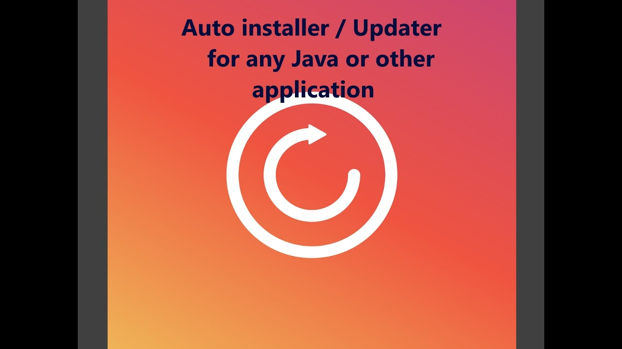 Auto Updater/Installer Tutorial for any Java Application - Part 4